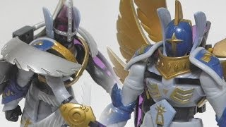 MagnaAngemonホーリーエンジェモン(HolyAngemon) to Seraphimonセラフィモン(HK)-Bandai Digimon toy figureバンダイデジモンフィギュア