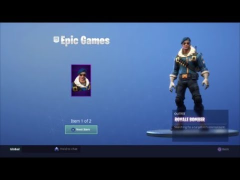 Fortnite Royale Bomber Outfit