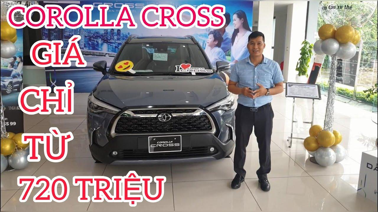 Toyota Corolla Cross Giá Từ 720 Triệu, Ngập Tràn Công Nghệ, CR-V, Tucson  Run Sợ ?