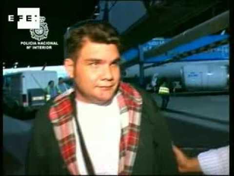 Francisco Larrañaga llega a España para cumplir condena