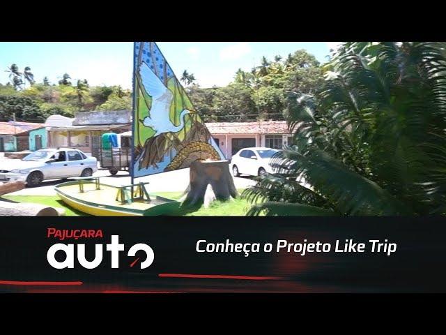 Conheça o Projeto Like Trip desenvolvido no litoral norte de Alagoas