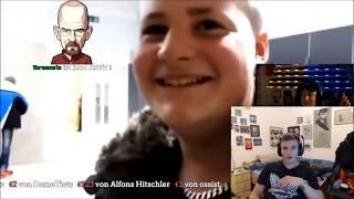 Adlersson reagiert auf MontanaBlacks Reaktion auf Adlersson | Adlersson Streamausschnitt