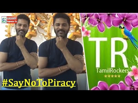 Prabhu deva humble request to TAMILROCKERS   Mercury   Karthik Subbaraj   Chennai Express Tv