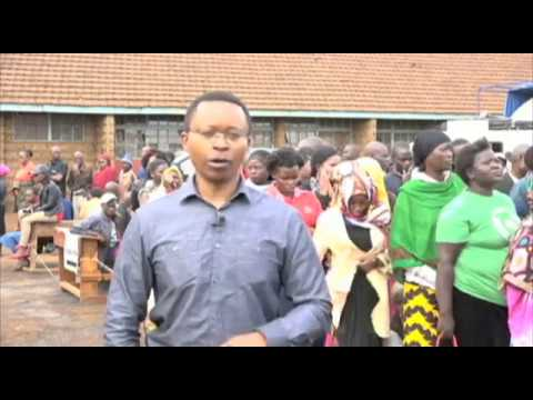 Kenya Goes to the Polls- Vincent Makori Reports from Nairobi