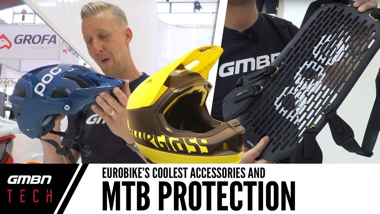7660c32114b Cool New Mountain Bike Protection And Accessories At Eurobike - YouTube