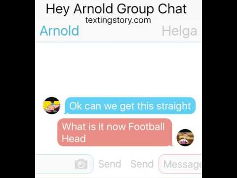 Hey Arnold Group Chat (Ending)