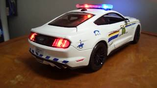 1/18 RCMP Ford Mustang GT 2015 Royal Canadian Mounted Police