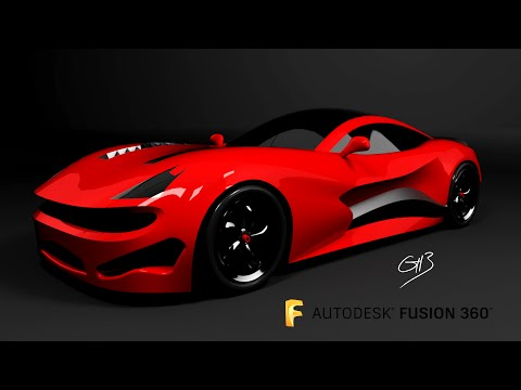 Speed Run 5 - Car design using Fusion 360