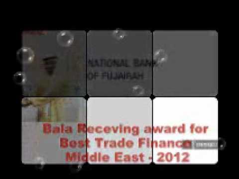 "National Bank of Fujairah, Dubai Won ""Best Trade Finance, Middle East 2012"" award"