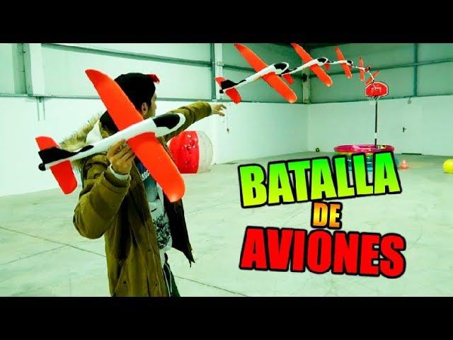 BATALLA DE AVIONES PLANEADORES !! (CON TRICK SHOTS) Makiman