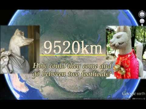 2474【43】Japanese INARI, Fox or Dog?日本のイナリは犬かキツネか・ヘルマヌビス説by Hiroshi Hayashi, Japan