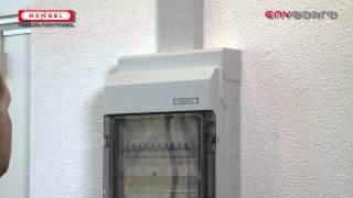 KV-Kabeleinführungsblende / KV-Cable entry cover
