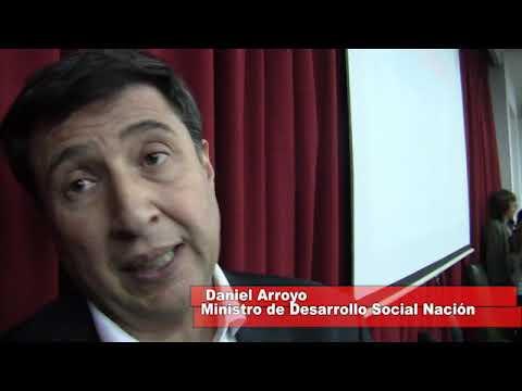 Daniel Arroyo en una nota con Enrique Correa