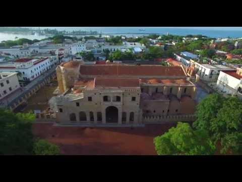 Zona Colonial - Santo Domingo, Republica Dominicana - DJI Phantom 3