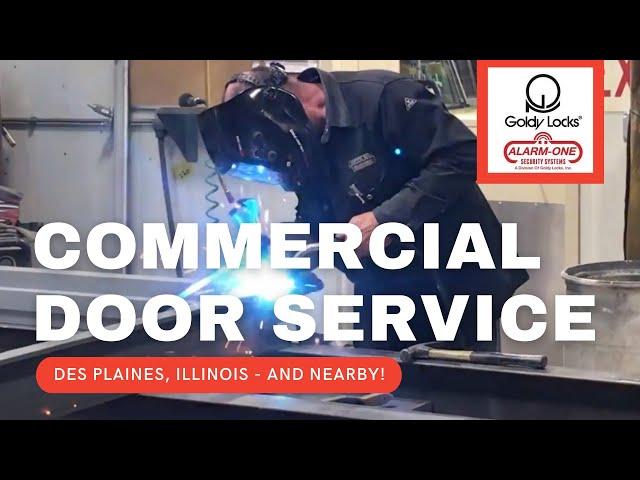 Commercial Doors Des Plaines, IL | Steel Doors | Security Doors - Goldy Locks, Inc.