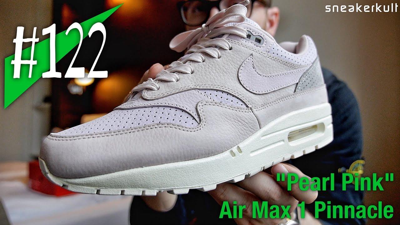 NikeLab Air Max 1 Pinnacle 859554 600 Silt RedPearl Pink