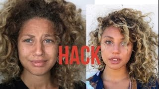 10 BEST CURLY HAIR HACKS !!!