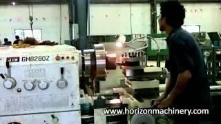 Heavy duty lathe machine 4000 mm between center 3