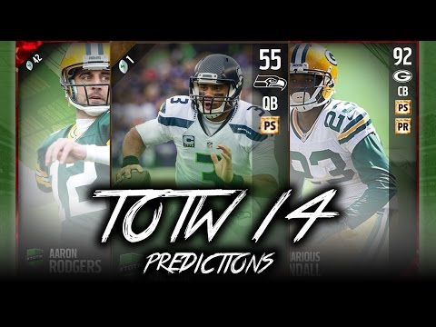 48 HR. JANORIS JENKINS!! TOTW 14 PREDICTIONS! - Madden 17 Ultimate Team