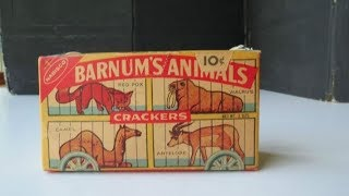 Very Brief History of Animal Crackers - RTHE Minutia Minute