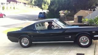 1965 Mustang Fastback K Code 289 Hi-Po