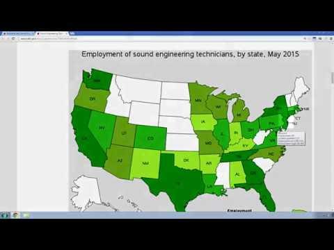 Recording Arts & Audio Engineering Job Prospects 2016