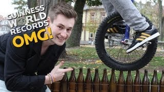 Beer Bottle Unicycle Record Holder // On The Road (Ep19)