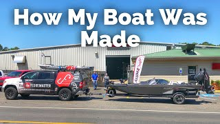 How it's Made - Fishing Boats - Picking up My New Alumacraft Pro 185