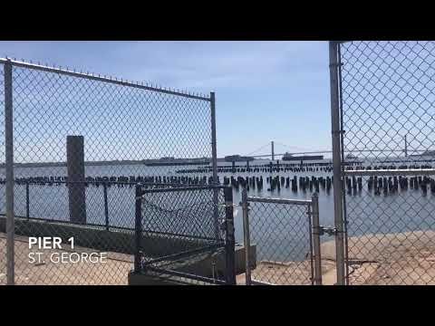 Staten Island's Shoreline For The Fishing