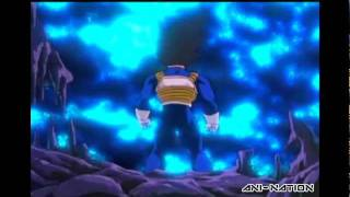 DBZ Kai Uncut - Vegeta Super Saiyan For The First Time (Faulconer Music)