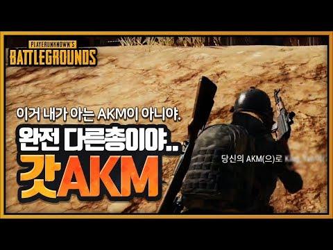 AKM이 갓AKM이라 불리는 이유 (솔쿼드) | 배틀그라운드 군림보