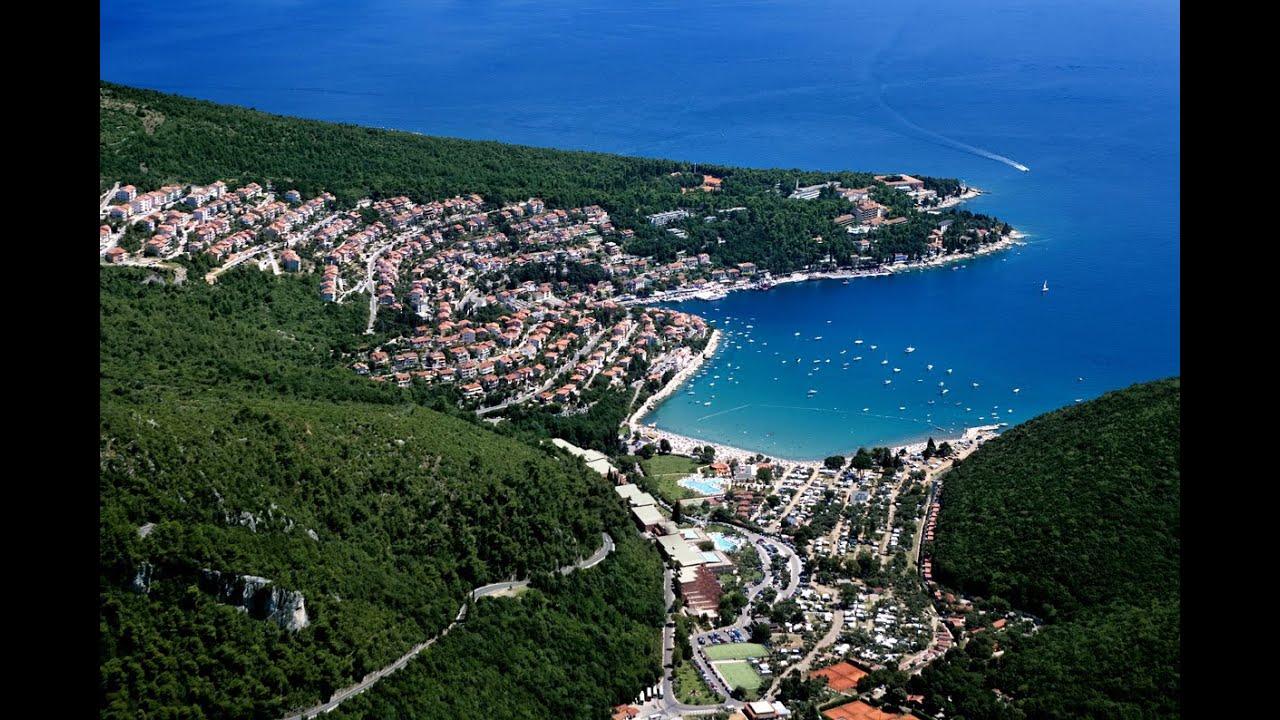 Istrien Karte Rabac.Rabac Istrien Kroatien