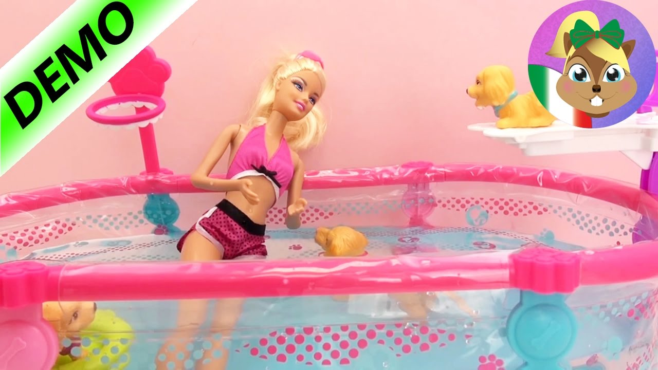 barbie piscina italiano piscina di barbie barbie con ForPiscina Di Barbie