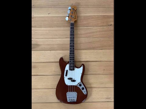 1975 FENDER MUSTANG BASS  Andy&39;s Vintage Guitars