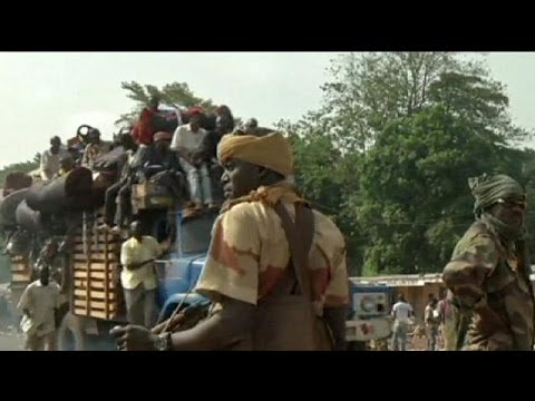 Muslims flee Central African Republic - no comment