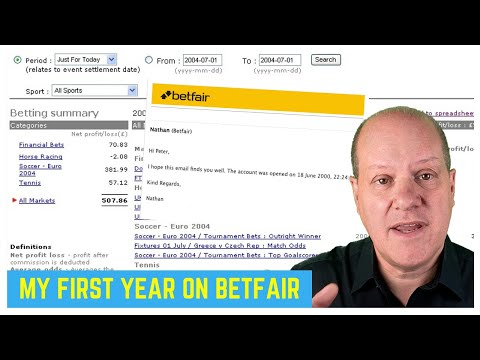 Peter Webb - Bet Angel - My first year of trading on Betfair for a living