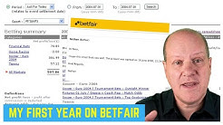 Review of my first year of sports trading on Betfair for a living