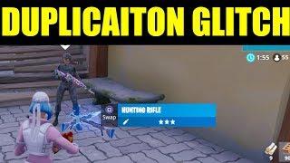 Fortnite DUPLICATION GLITCH Season 8 (Duplicate item glitch) - Vending Machines