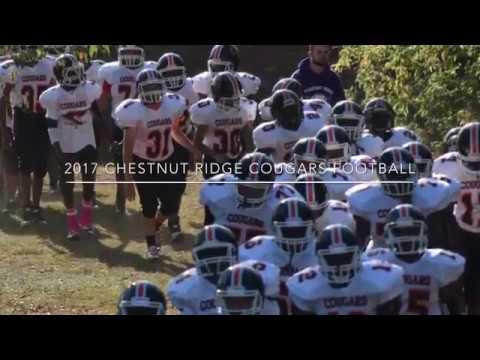 2017 Chestnut Ridge Cougars Football Highlight