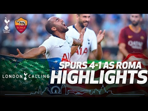 SPURS 4-1 AS ROMA   HIGHLIGHTS   #SpursInUSA