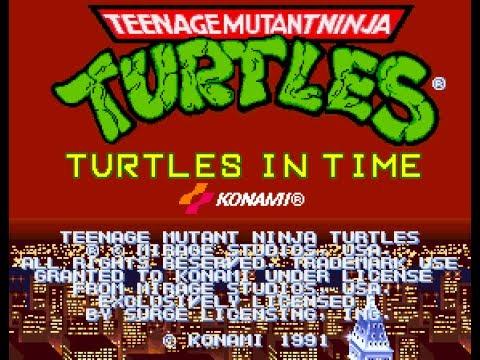 Teenage Mutant Ninja Turtles: Turtles in Time (arcade game)