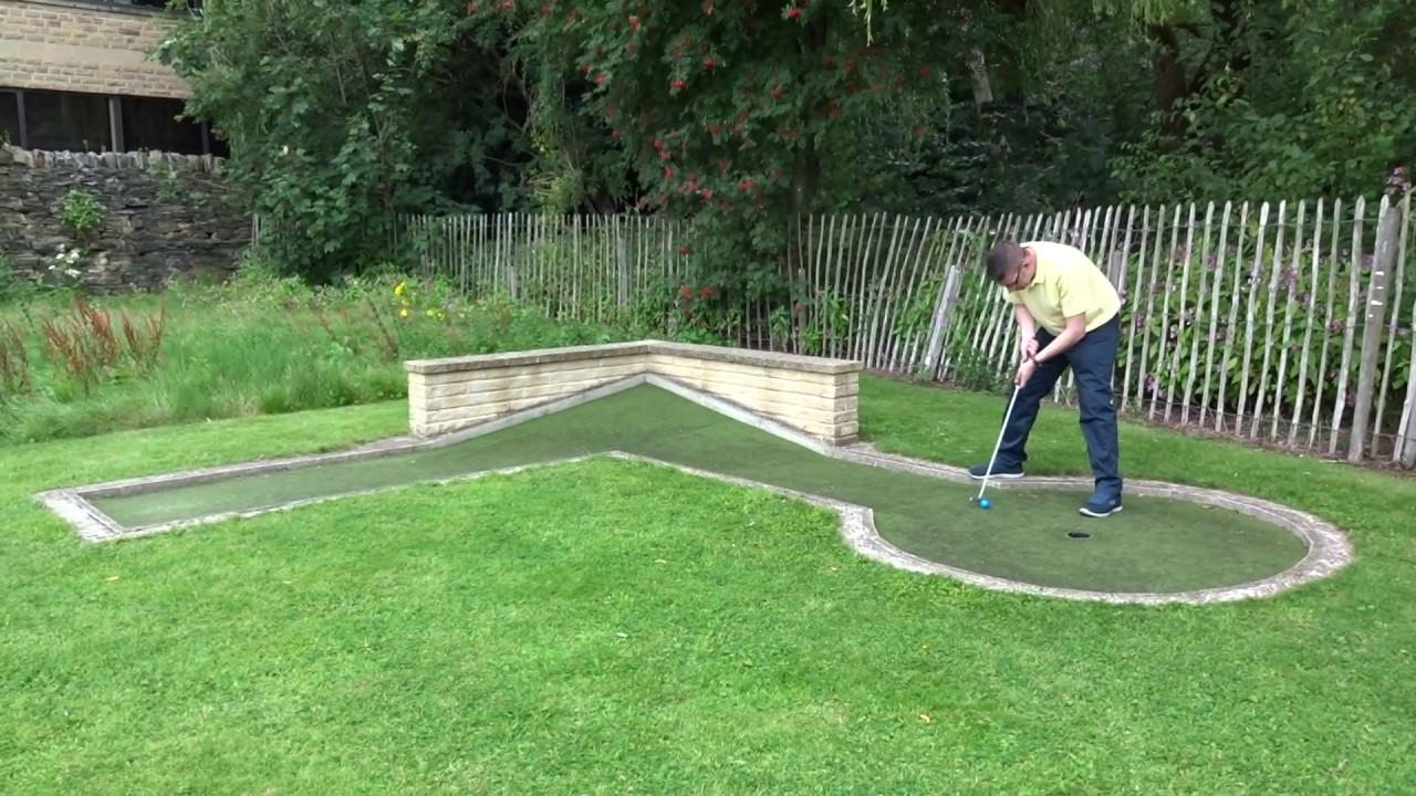 crazy golf at wellholme park in brighouse hole 6 1 of 2 youtube