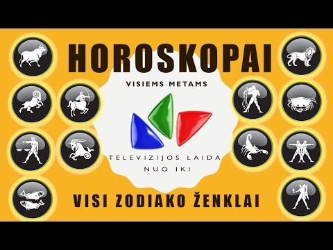 Laida Nuo iki HOROSKOPAI 2016m visiems ženklams from YouTube · Duration:  16 minutes 30 seconds
