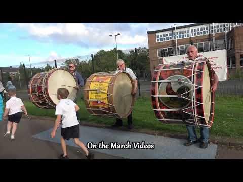 Lambeg Drums before