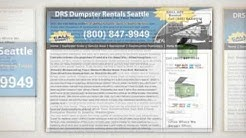 DRS Dumpster Rental in Seattle