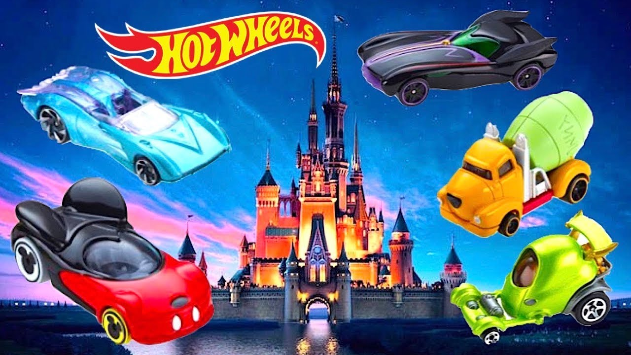 Hot Wheels Disney Cars
