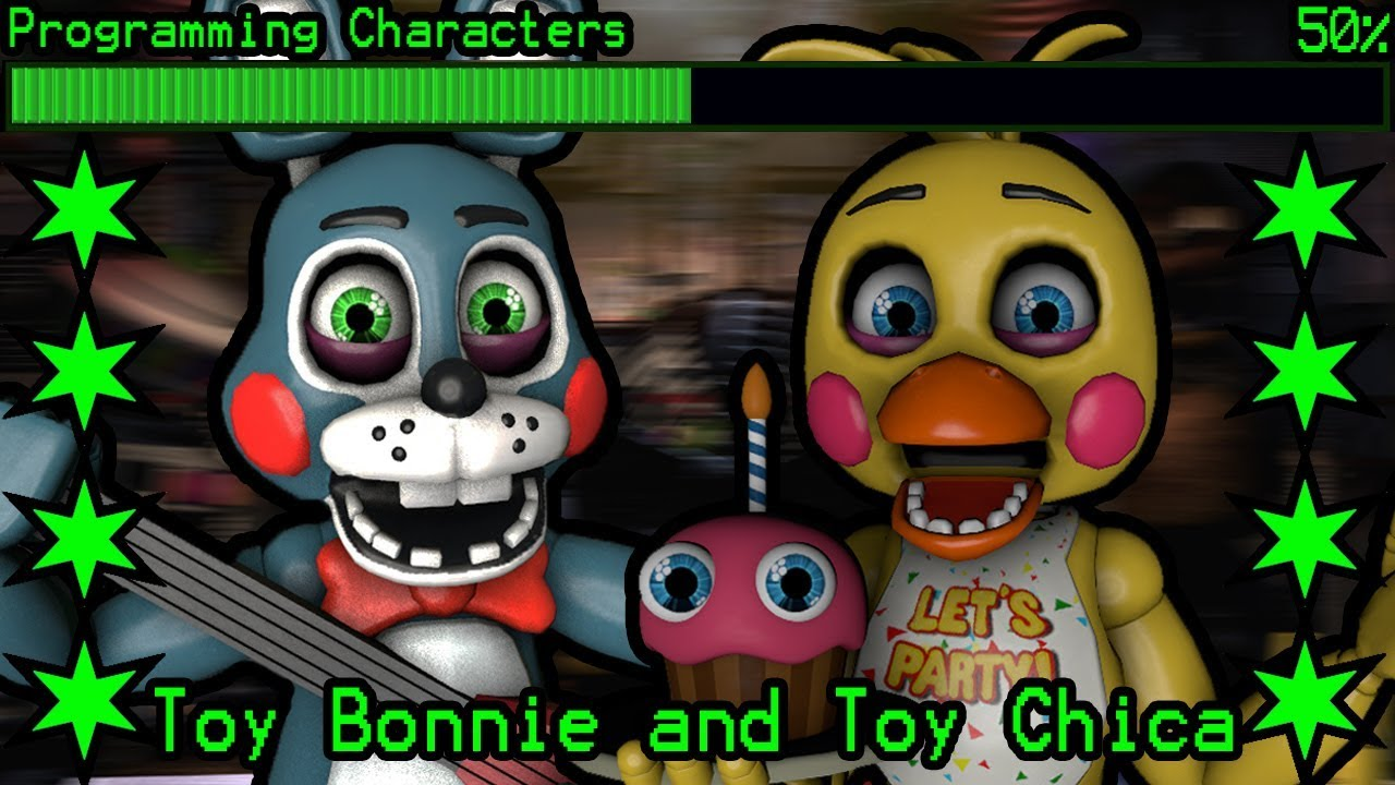 How will Toy Bonnie and Toy Chica work in Ultimate Custom Night?