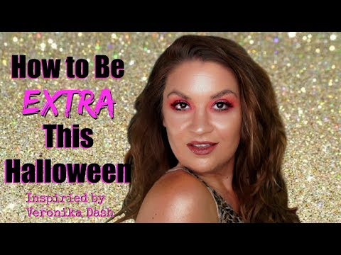 How To Be Extra On Halloween with Boxycharm Makeup