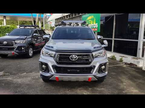 2016 Toyota Hilux Revo Double Cab Black TRD Rocco For Sale Thailand Car Exporter