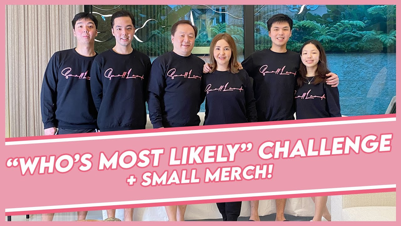 """WHO'S MOST LIKELY"" CHALLENGE with the FAMILY! 